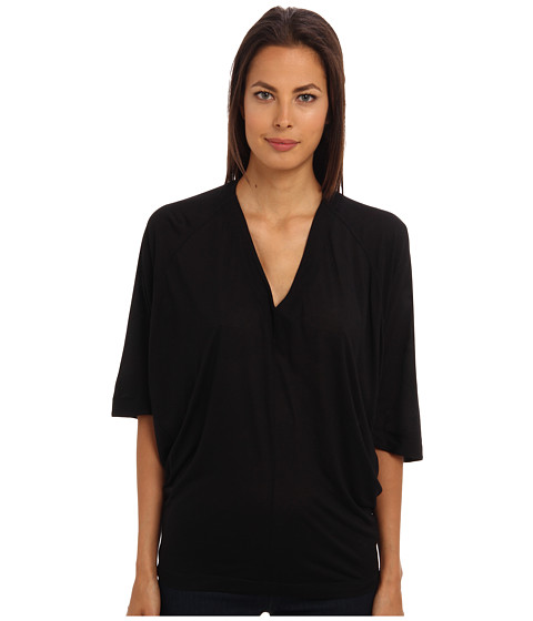 HELMUT LANG - Big Tunic (Black) Women's Blouse