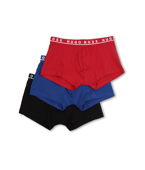 BOSS Hugo Boss - Cotton Stretch Boxer 3 Pack 50236743 (Red/Blue/Black) Men