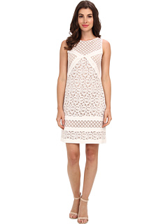 SALE! $97.99 - Save $60 on Muse Lacey Shift Dress (White) Apparel - 37.98% OFF $158.00
