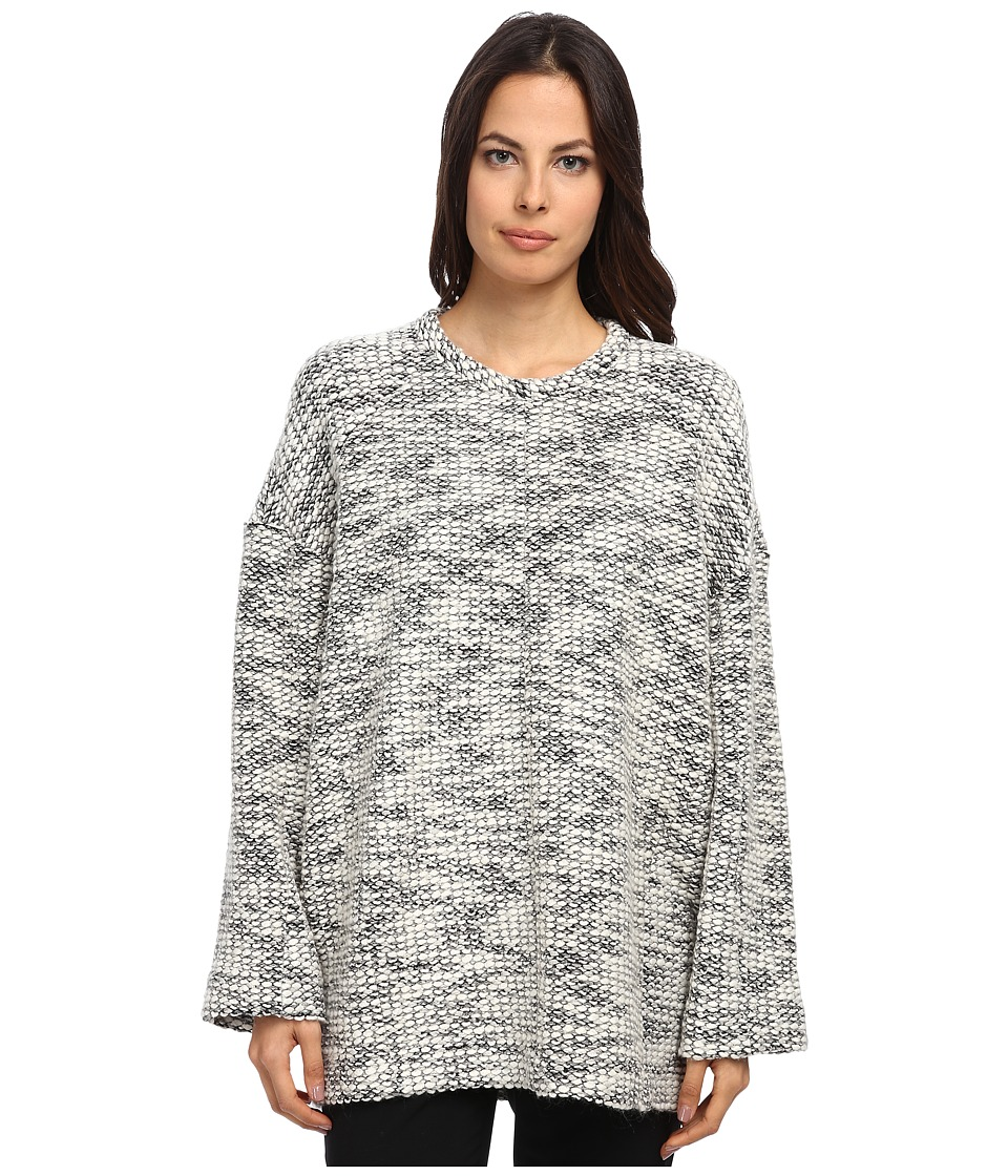 HELMUT LANG - Drop Sweatshirt (Grey Multi) Women's Sweatshirt