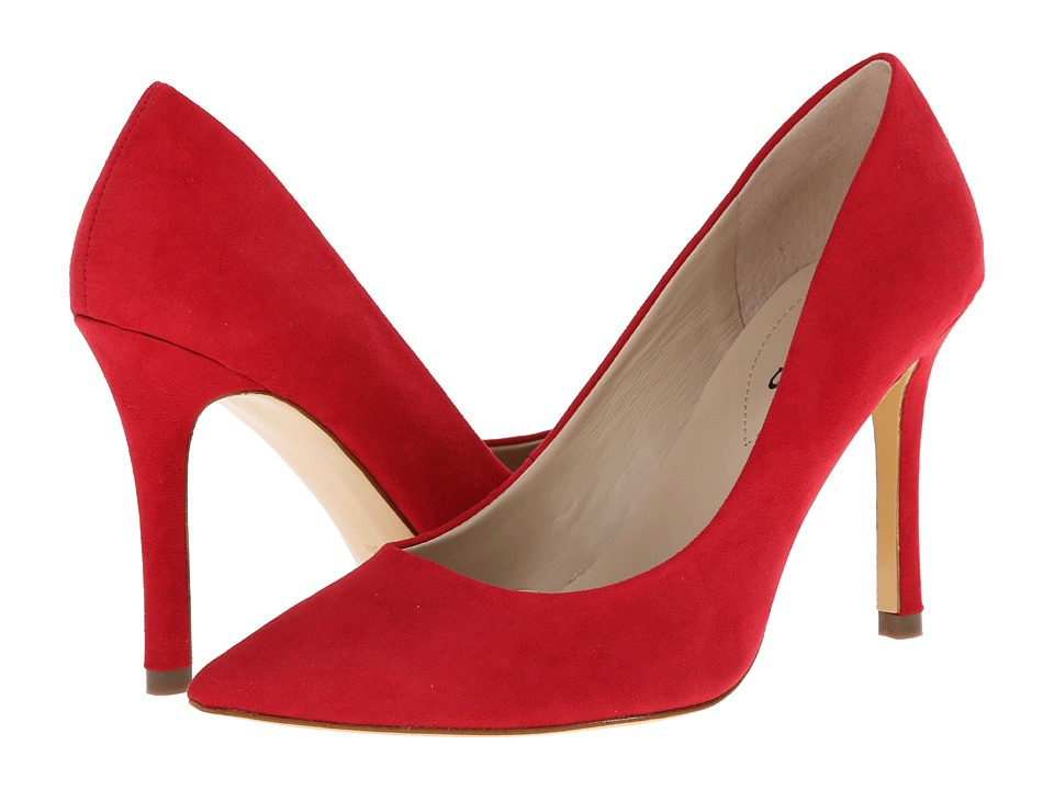 GUESS - Eloy (Red Synthetic Suede) High Heels