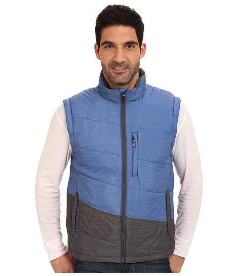 Cinch - Light Weight Polyfill Vest (Blue) Men