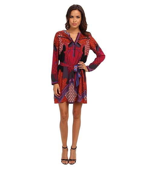 Hale Bob - Deconstructionism Dress (Fuchsia) Women
