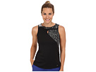 Jamie Sadock Millie Sleeveless Top (Jet Black)