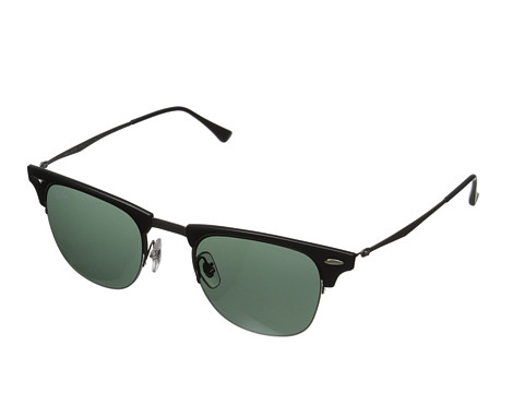 Ray-Ban - RB8056 49mm (Blasted Gunmetal) Fashion Sunglasses