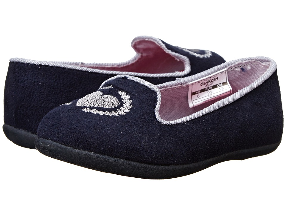 OshKosh - Eva 2-14 (Toddler/Little Kid) (Navy) Girls Shoes
