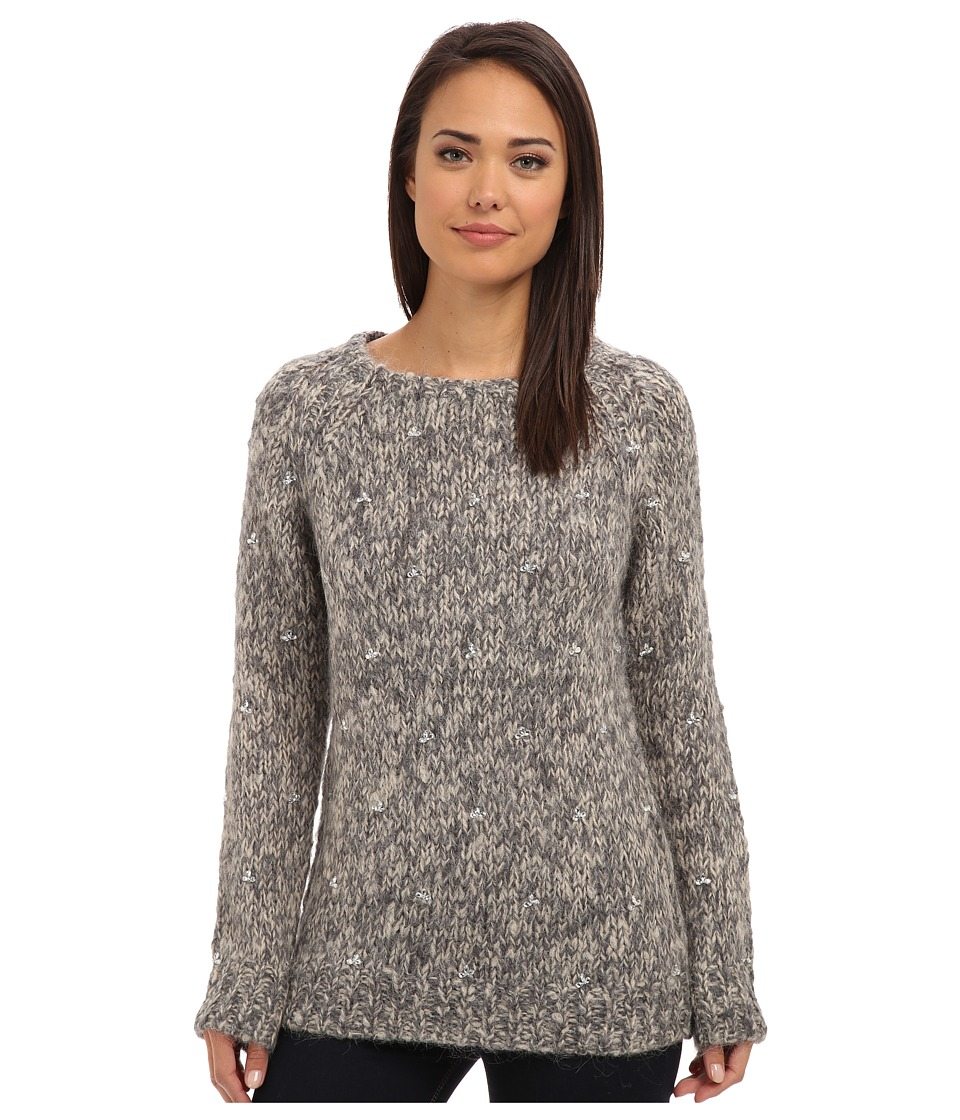 Joe's Jeans - Barre Melange Sweater (Heather Grey) Women's Sweater