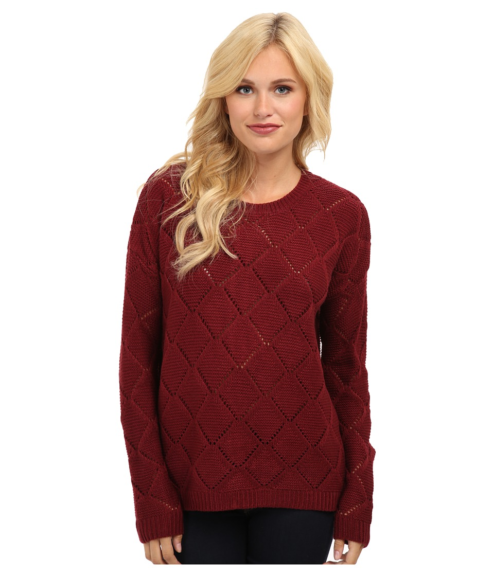 Brigitte Bailey - Cedar Back Button Sweater (Raisin Tartt) Women's Sweater