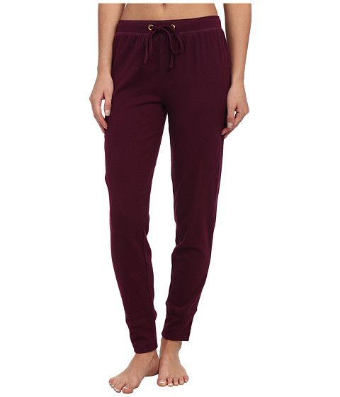 Jockey - Traditional Baby Waffle Ski Pant (Curant Berry) Women's Pajama