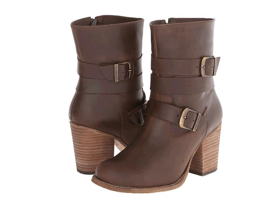 Fitzwell - Laguna Bootie (Dark Brown Leather) Women
