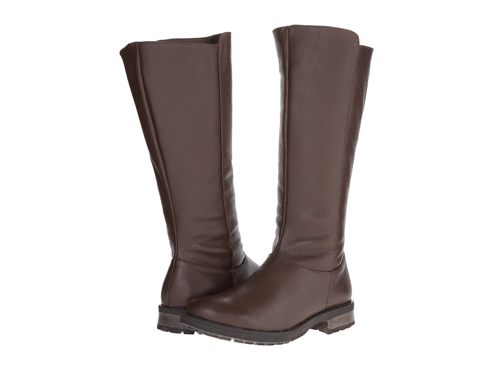 Fitzwell - Menier Wide Calf (Dark Brown Leather) Women