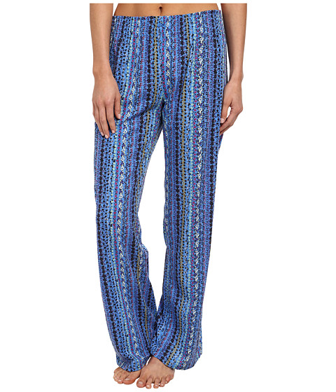 Jockey - Traditional Long Pant (Floral Stripe) Women