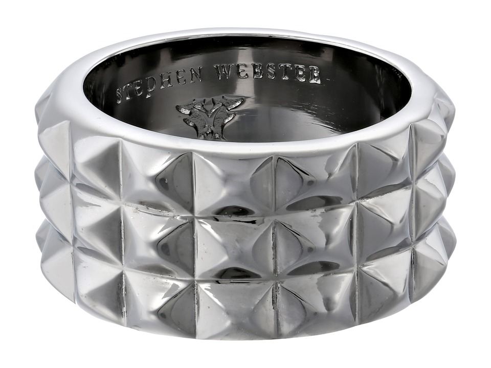Stephen Webster - Alchemy in the UK Collection Stud Ring (Black Rhodium) Ring