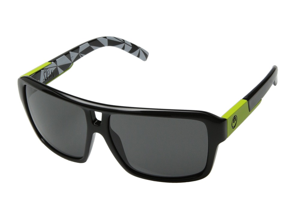 Dragon Alliance - The Jam (Neo Geo/Grey) Plastic Frame Sport Sunglasses