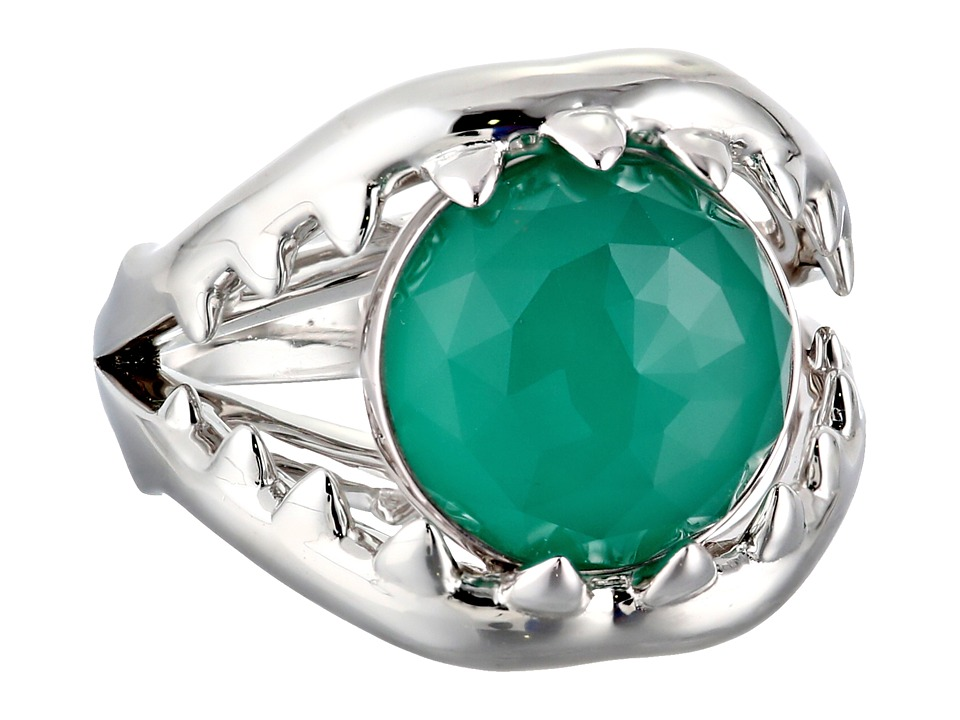 Stephen Webster - Les Dents De La Mer Crystal Haze Jaw Ring (Chrysoprase Crystal Haze) Ring