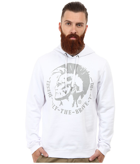 Diesel - Suzanne Sweatshirt (White) Men's Sweatshirt