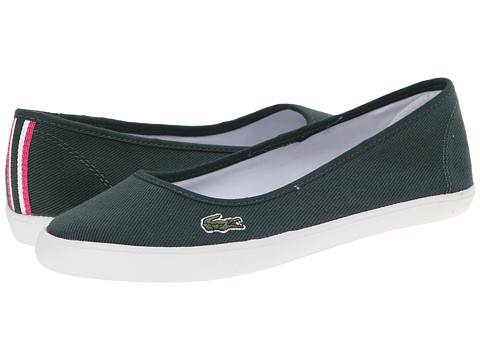 Lacoste - Marthe CSD (Dark Green/Dark Green) Women's Slip on Shoes