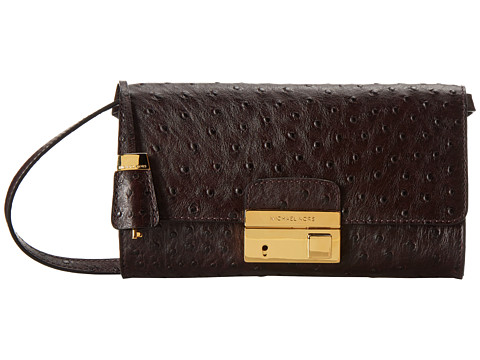 Michael Kors - Gia Clutch (Bordeaux) Clutch Handbags