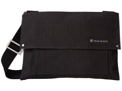 Sherpani - Chelsea Shoulder Bag (Heathered Black) Cross Body Handbags