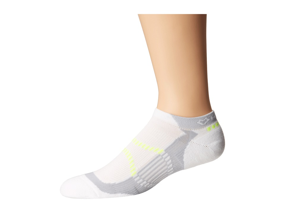Fox River - Velox LX (3-Pair Pack) (White) Men's Crew Cut Socks Shoes