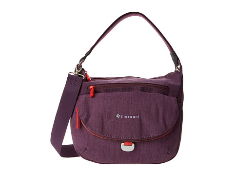 Sherpani - Vibe Medium Crossbody Bag (Plum) Cross Body Handbags