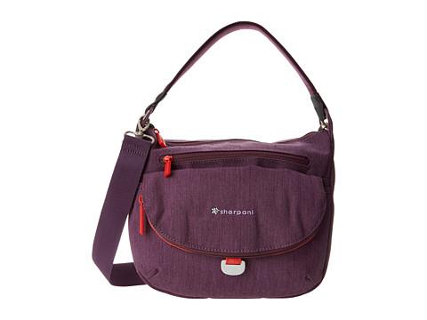 Sherpani - Vibe Medium Crossbody Bag (Plum) Cross Body Handbags