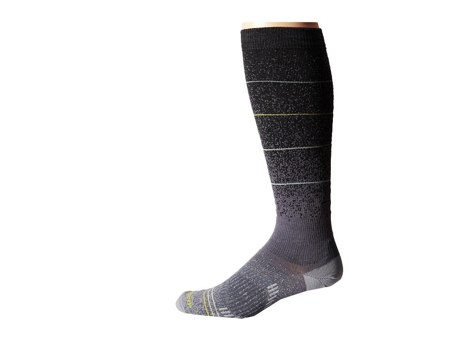 Fox River - Andermatt (Black) Men's Crew Cut Socks Shoes