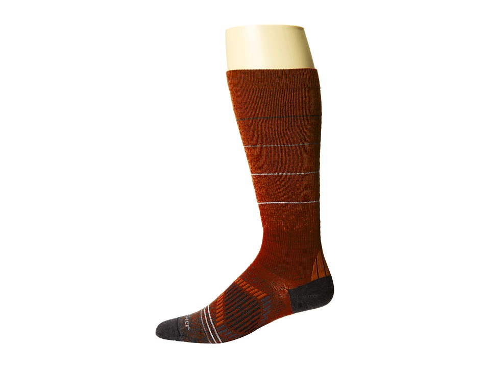 Fox River - Andermatt (Orange) Men's Crew Cut Socks Shoes