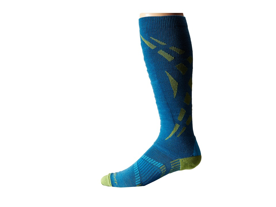 Fox River - Zermatt (Lyons Blue) Men's Crew Cut Socks Shoes