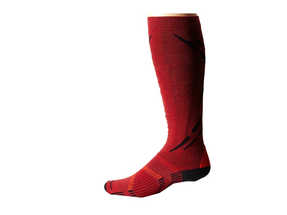 Fox River - Zermatt (Red) Men's Crew Cut Socks Shoes