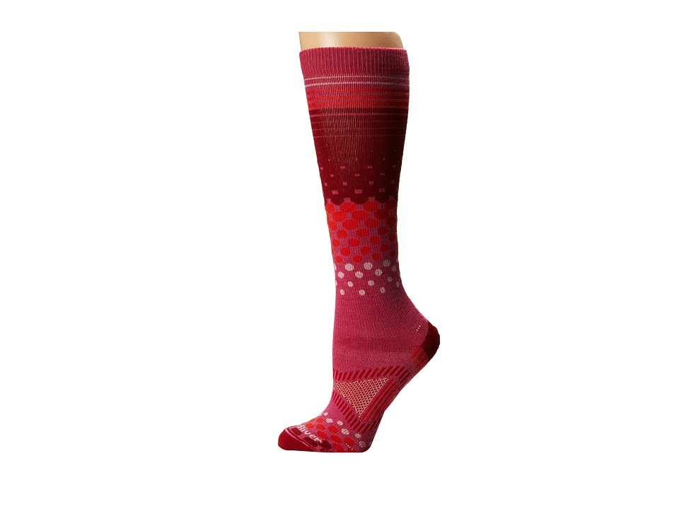 Fox River - Tremblant (Raspberry) Women's Crew Cut Socks Shoes