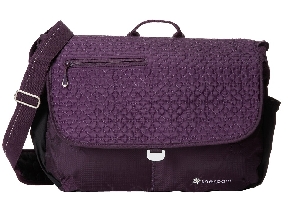 Sherpani - Verve Messenger Bag (Purple) Messenger Bags