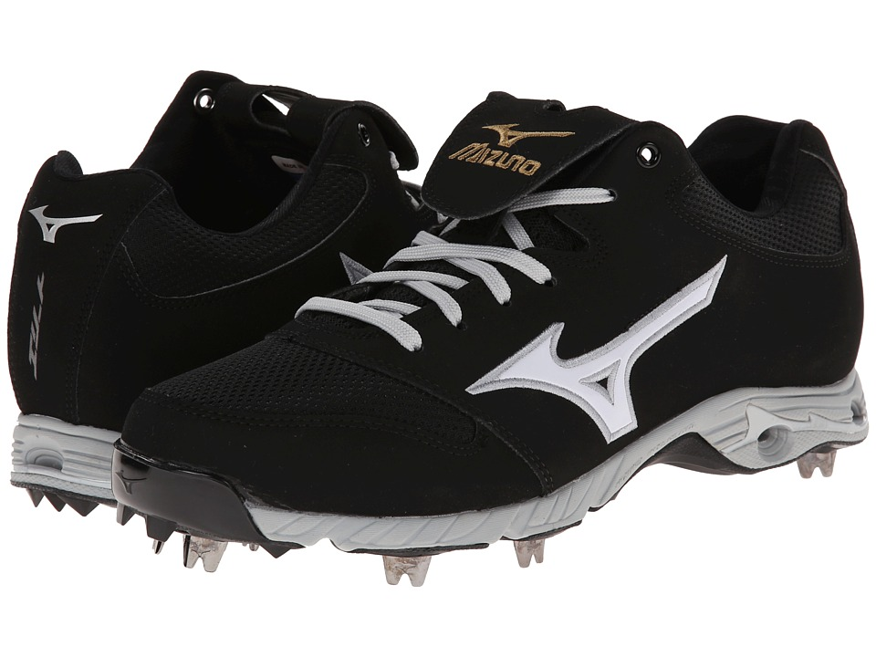 Mizuno - 9-Spike Advancd Pro Elite (Black/White) Men's Cleated Shoes