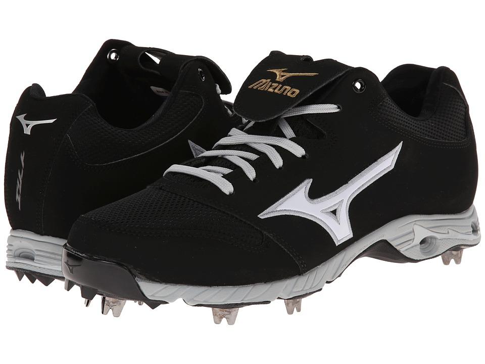 Mizuno - 9-Spike Advancd Pro Elite (Black/White) Men's Cleated Shoes