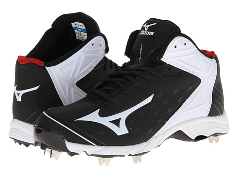 Mizuno - 9-Spike Advanced Swagger 2 Mid (Black/White) Men