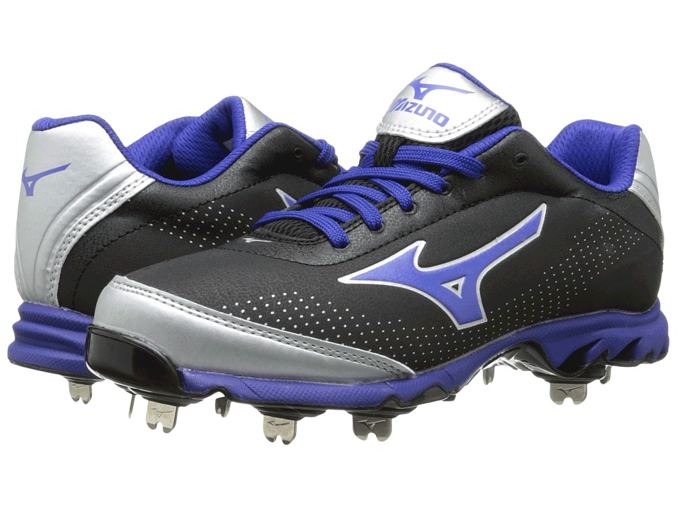 Mizuno - 9-Spike Vapor Elite 7 Low (Black/Royal) Men