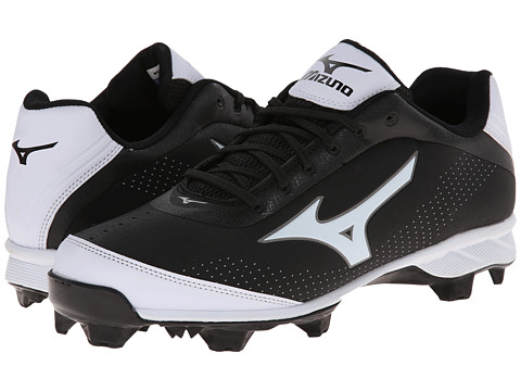 Mizuno - 9-Spike Advanced Blaze Elite 5 Low (Black/White) Men's Cleated Shoes