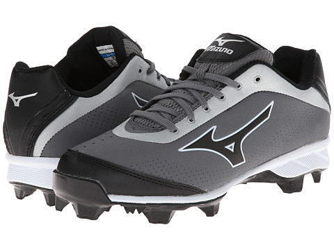 Mizuno - 9-Spike Advanced Blaze Elite 5 Low (Grey/Black) Men's Cleated Shoes