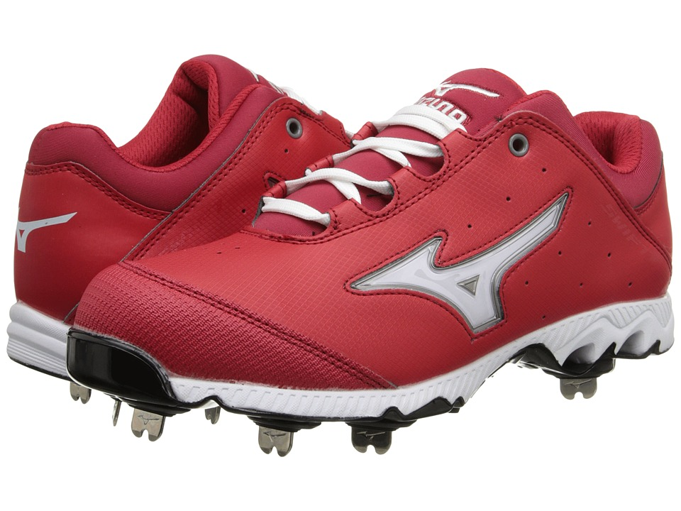 Mizuno - 9-Spike Swift 3 Switch (Red/White) Women's Cleated Shoes