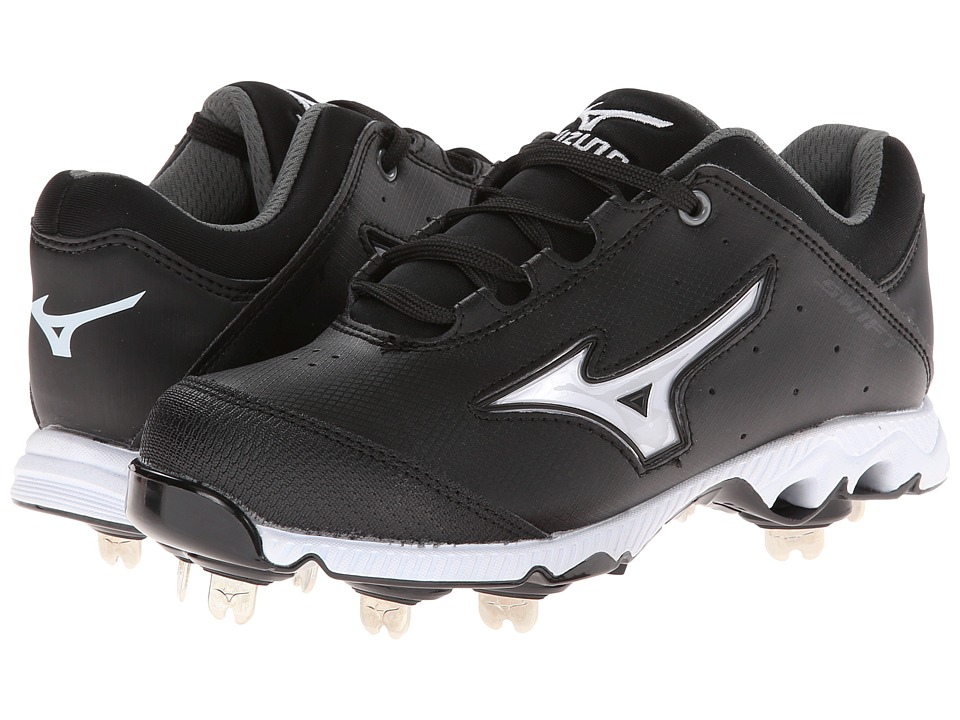Mizuno - 9-Spike Swift 3 Switch (Black/White) Women's Cleated Shoes