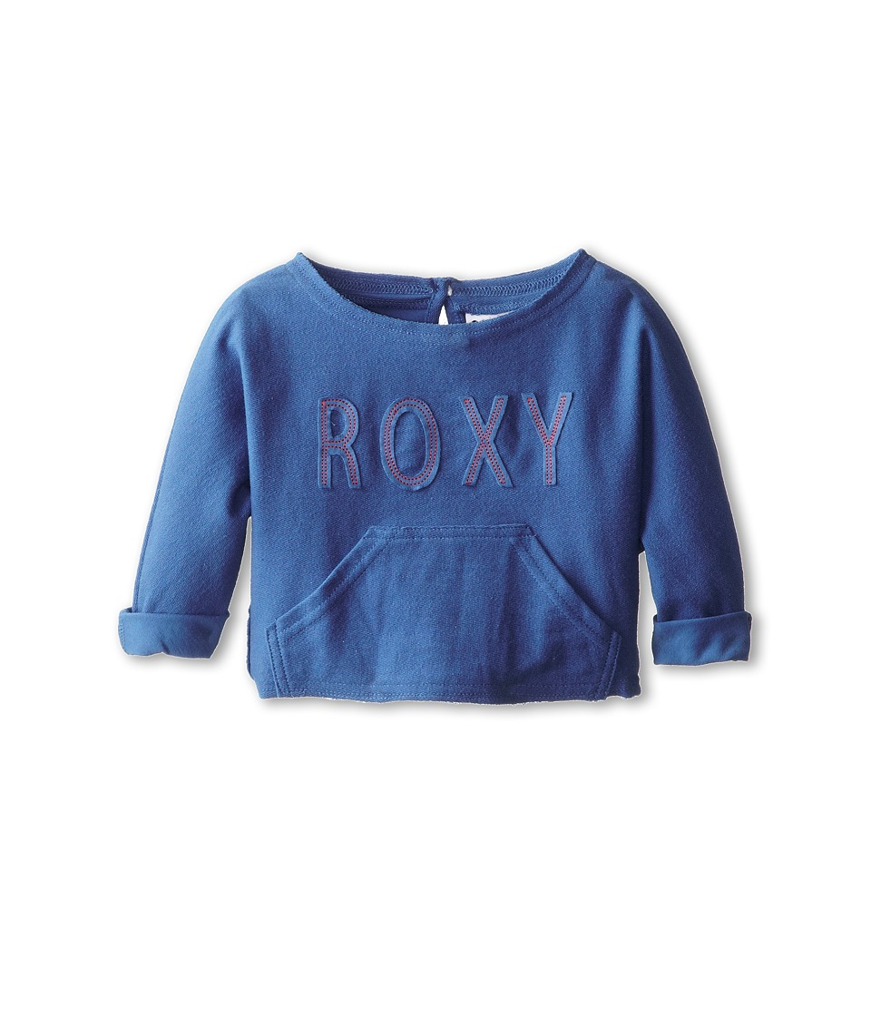 Roxy Kids - Sandyland Sweatshirt (Toddler/Little Kids/Big Kids) (Federal Blue) Girl's Sweatshirt