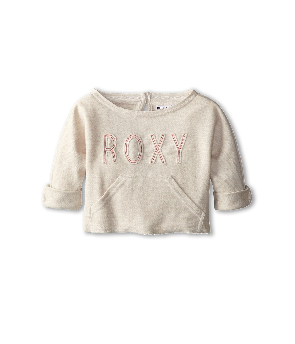 Roxy Kids - Sandyland Sweatshirt (Toddler/Little Kids/Big Kids) (Metro Oatmeal) Girl's Sweatshirt