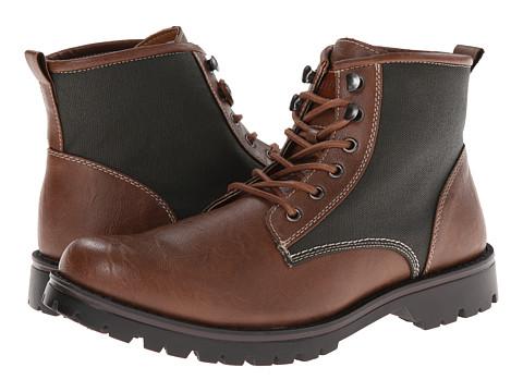 Tommy Hilfiger - Josh (Tan) Men's Lace-up Boots