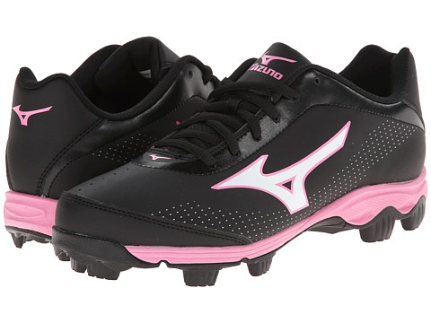 Mizuno - 9-Spike Finch Franchise 5 (Black/Pink) Women