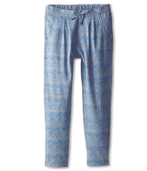 Roxy Kids - City Lights Pant (Big Kids) (Santorini Federal Blue Geo) Girl's Casual Pants