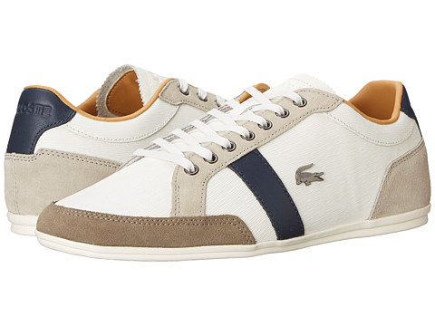 Lacoste - Alisos 20 (Off White) Men's Shoes