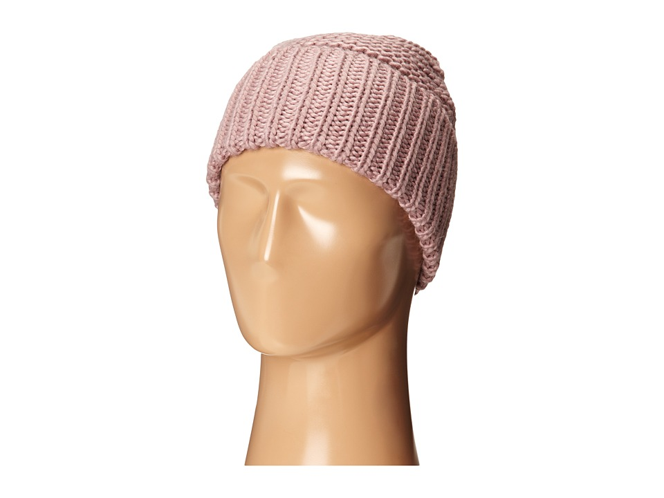 Cole Haan - Xtra Chunky Cuff Hat (Pink) Knit Hats