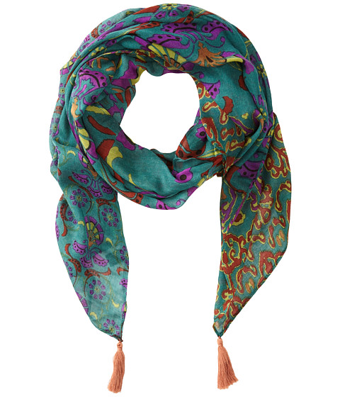 Sam Edelman - Tapestry Oblong (Blue) Scarves
