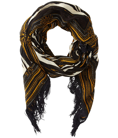 Sam Edelman - Stained Glass Oblong (Black) Scarves
