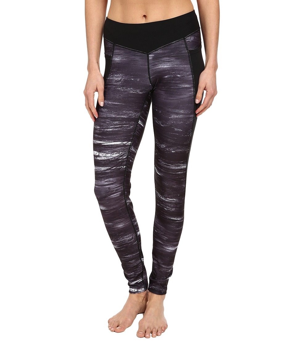 Lucy - Endurance Tight (Lucy Black Storm Print) Women